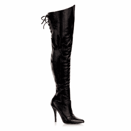Thigh High Sexy Heel Leather Boot