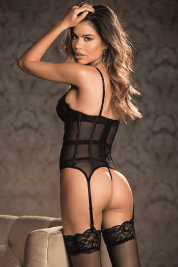 Let's Get It Started Bustier & G-String Set
