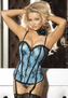 Like A Star On the Hollywood Walk Satin & Lace Corset
