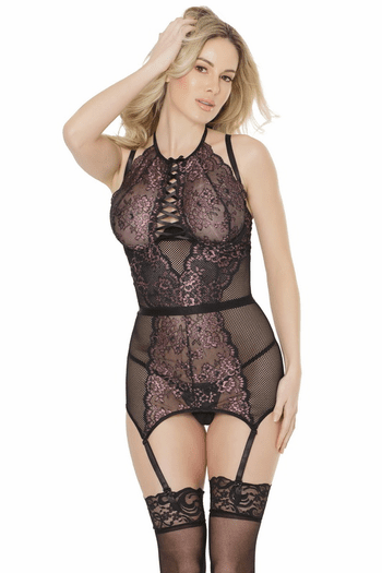 Lilac Lace Bustier
