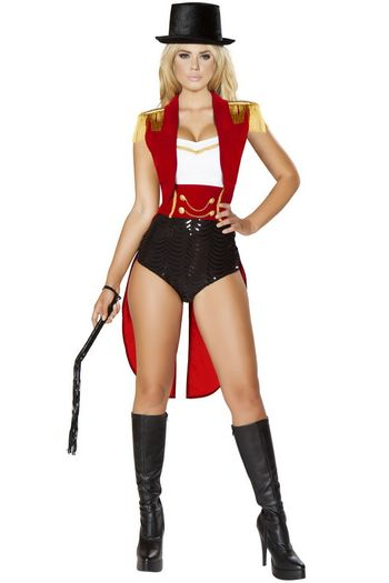 Lion Tamer Ring Leader Circus Costume