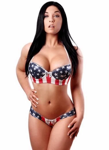 Little Miss America Sexy Bra