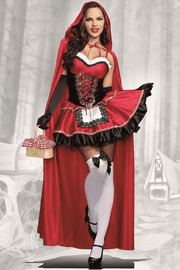 Little Miss Riding Hood Sexy Costume