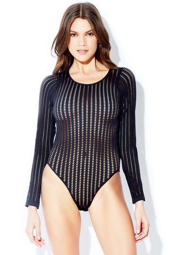 Long Sleeve Net Teddy