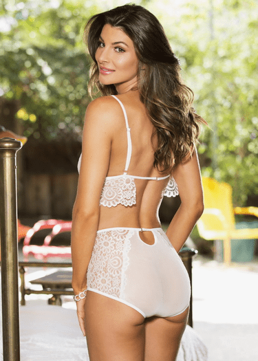 Lost In Your Arms Bralette & High Waist Panty Set