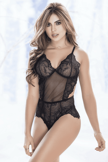 Love Affair Lace Teddy