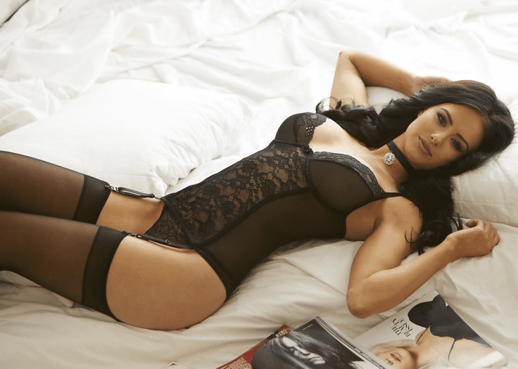 Love Galore Lace Bustier & Thong Set