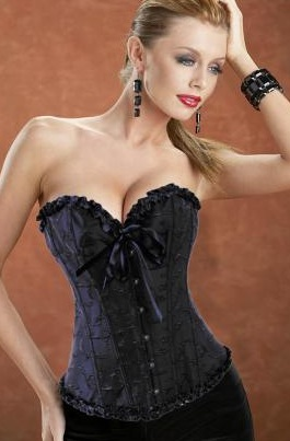 Love Is Magic Embroidered Corset