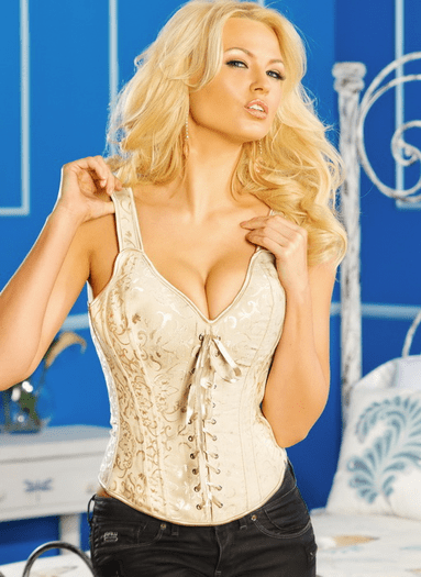 Love You Inside Out Corset Top