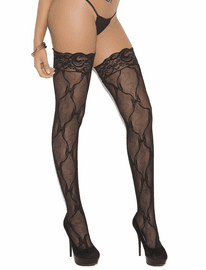 Lovely Lace Silicone Thigh High