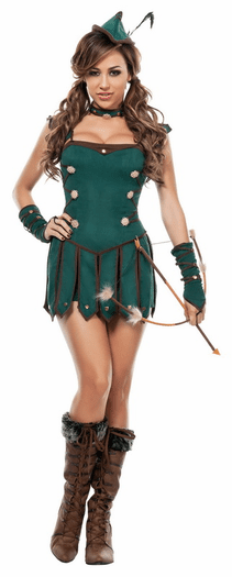 Lovely Robin Sexy Costume