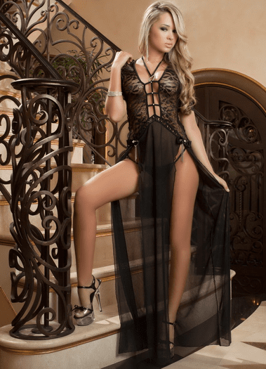 Luxe Delight Sexy Gown