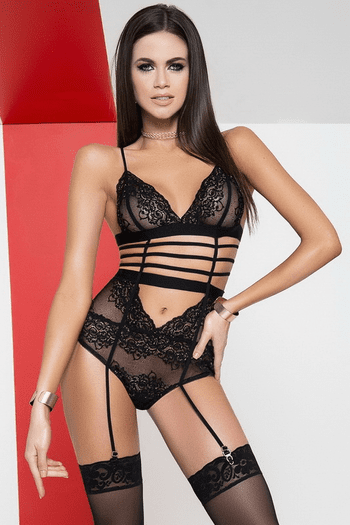Luxurious Lace Teddy