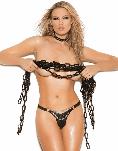 Luxurious Leather G-String
