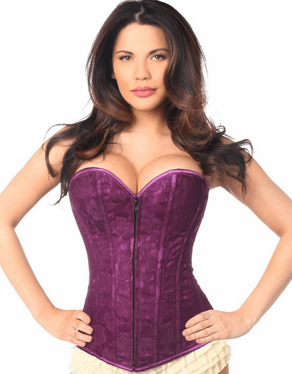 Magenta Moments Strapless Full Bust Corset