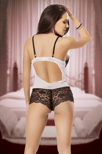 Make Love To Me Lace Teddy