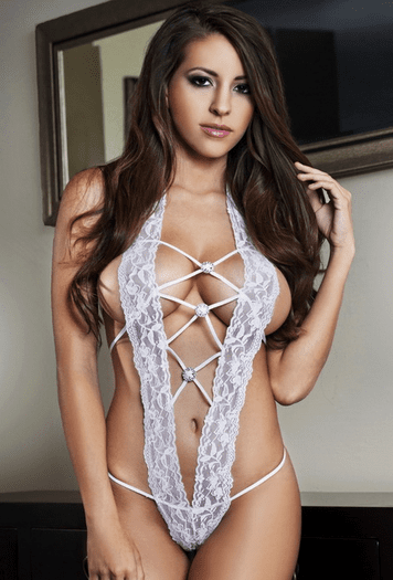 Martha's Love Lace Teddy
