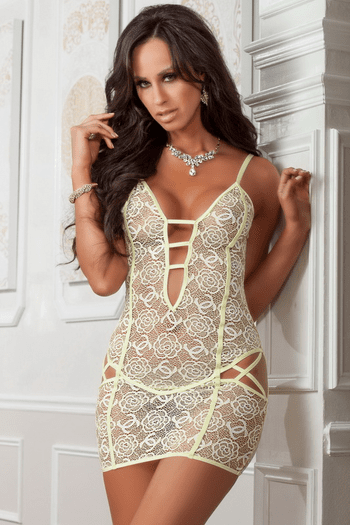 Mellow Cheeky Lace Chemise