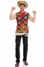 Men's Mexican Tequila Shooter Costume