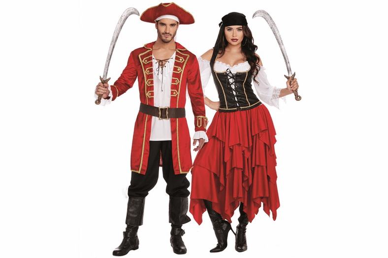 Men's Ships Ahoy Pirate Costume