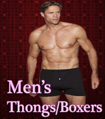 Men's Thongs & Boxers