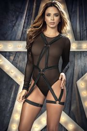Mesh Teddy & Detachable Harness Set