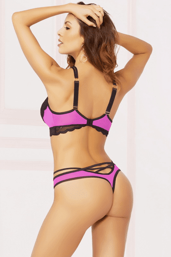 Mesmerized Lace Thong