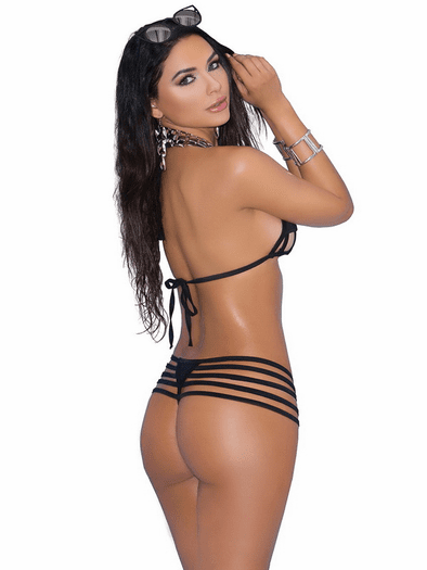 Miami Nights Strappy Bikini Set