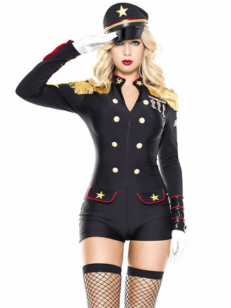 Military General Sexy Costume