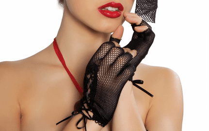Mini Fishnet Gloves