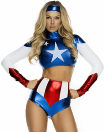 Miss America Sexy Superhero Costume