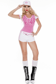 Miss Curve Baller Sexy Costume