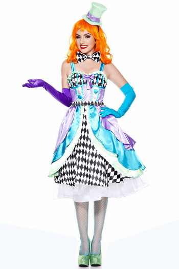 Miss Mad Hatter Sexy Costume