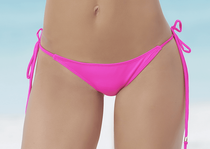 Mix And Match Fun In The Sun Thong Bikini Bottom