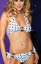 Most Loved Pink Polka Dot Sexy Bikini Set