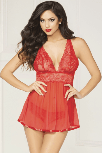 My Beloved Sexy Babydoll & Panty Set