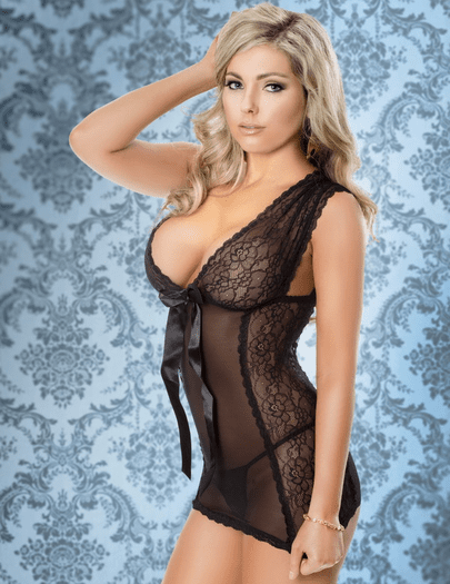 My Heart Is Yours Sexy Chemise
