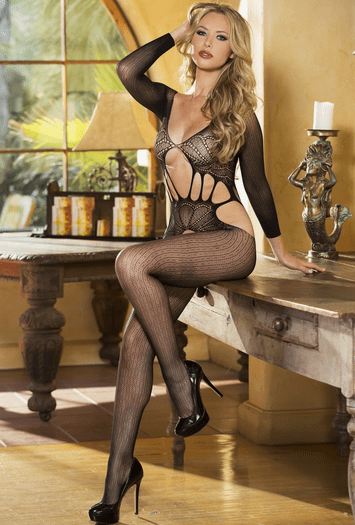 My Pleasure Net Bodystocking