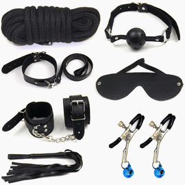 Natasha's Fetish Restraint Play Set