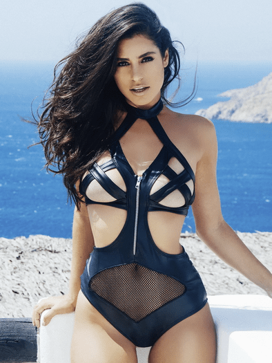 Naughty By Nature Fishnet Teddy