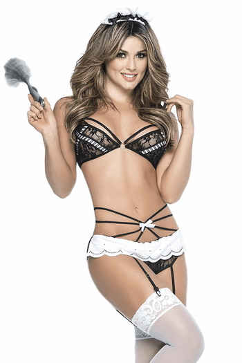 Naughty French Maid Bedroom Costume