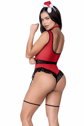 Naughty Mrs. Claus Lingerie Costume
