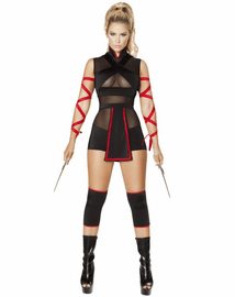 Ninja Striker Warrior Costume
