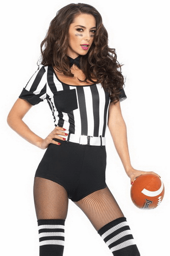 No Rules Referee Sexy Costume