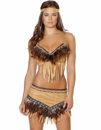 Noble Indian Sweetheart Sexy Costume