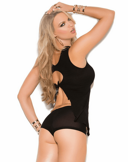 Opaque Promises Sexy Babydoll Cami & Shorts Set