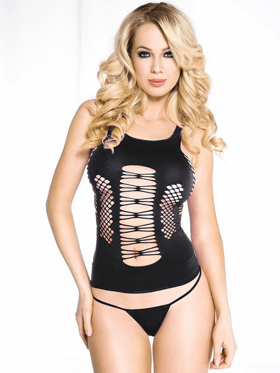 Open Center Sexy Camisole Top