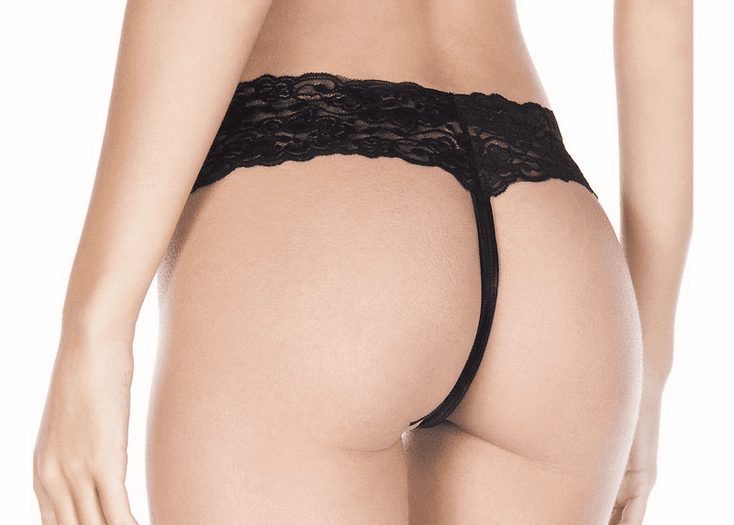 Open Front G-String