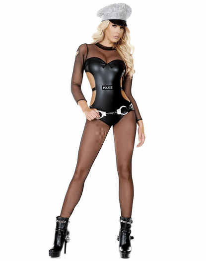 Opulent Officer Sexy Cop Costume