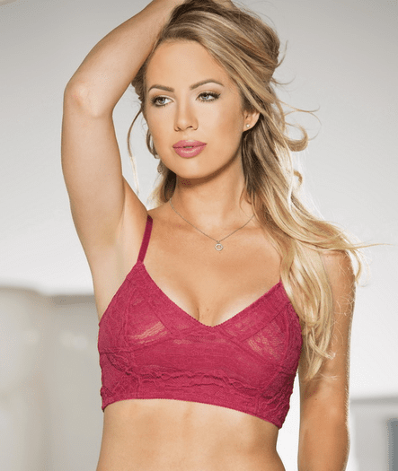 Passionate For You Lace Bralette
